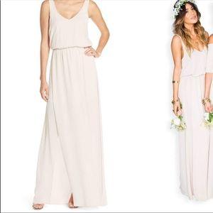 Show me your Mumu Kendall maxi bridesmaid dress
